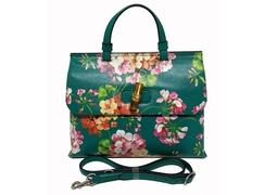 Bolsa Bamboo Daily Top Handle Blooms Print