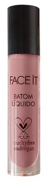 Batom líquido matte vegano Baby Face lavanda – 5ml