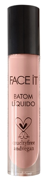 Batom líquido matte vegano Day After rosa chá  – 5ml
