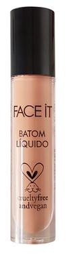 Batom líquido matte vegano First Base nude areia – 5ml