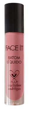 Batom líquido matte vegano Lovely rosa quartz – 5ml