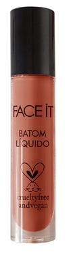 Batom líquido matte vegano Make Me Wet  telha  – 5ml