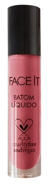Batom líquido matte vegano  Sweet Kiss rosa – 5ml