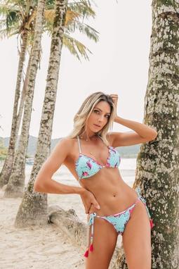 Biquini Tropical Summer Ripple