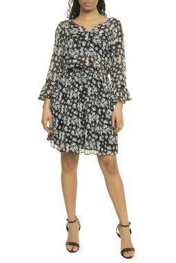 Black Flower Dress - 49N1730