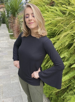 Blusa Clara Preta