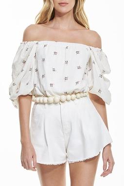 Blusa Decote Quadrado - 140280