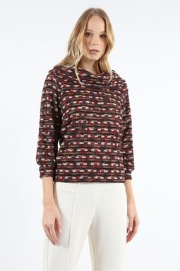 Blusa Gola Tweed