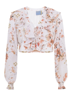 Blusa Jabour Tanger Floral USTYLE