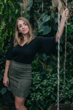 Blusa Olivia Preta