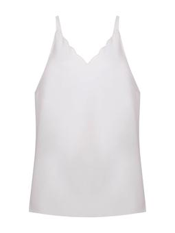 Blusa Regata Onda - Branco  USTL
