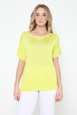 Blusa Trt Rayon Amarela