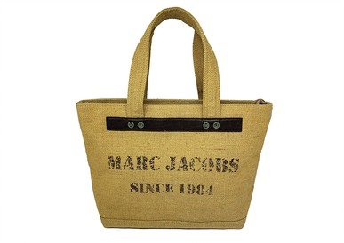 Bolsa Burlap Tote Marc Jacobs