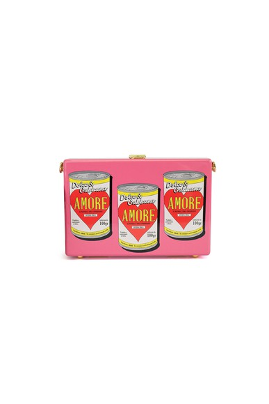 Bolsa Clutch Can of Amore Box Dolce & Gabbana