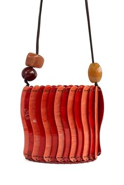 Bolsa Yadira Acrílico Vermelho