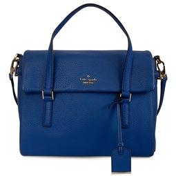 Bolsa De Couro Azul