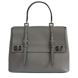 Bolsa Saffiano Cinza - DG16463