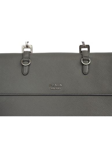 Bolsa Saffiano Cinza - DG16463 Prada