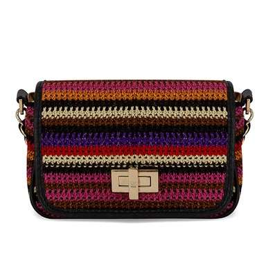 Bolsa Mini crochet com alça de corrente - DG15982 Missoni