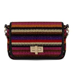 Bolsa Mini crochet com alça de corrente - DG15982