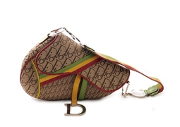 Bolsa Monogram Rasta Saddle
