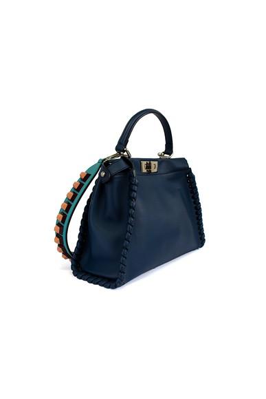 Bolsa Peekaboo Twist Studded Strap - DG15856 Fendi