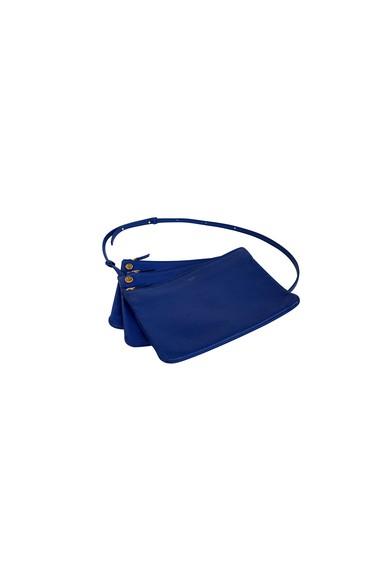 Bolsa Trio Bag Azul Royal - DG15412 Celine