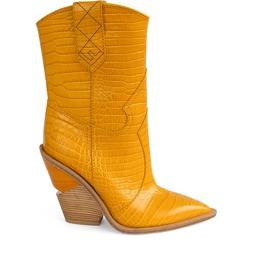 Bota Croco Amarela