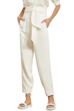 Calça Cintura Alta Amarra - 140045