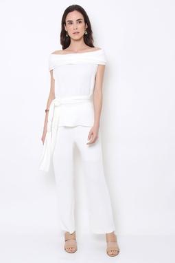 Calça Crepon Branca