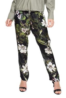 Calça Estampada Seda Elastico - DG15610