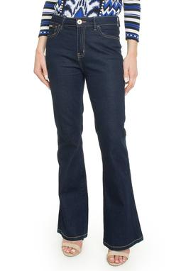 Calça Flare Jeans Escuro - DG17936