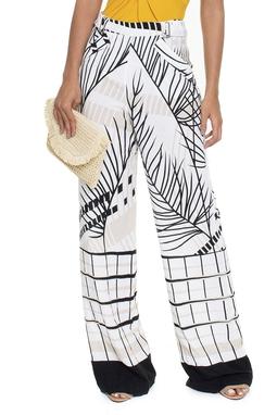 Calça Folhagem Pantalona - DG16189