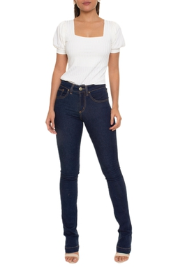 Calça Jeans Cintura Alta - DG16647
