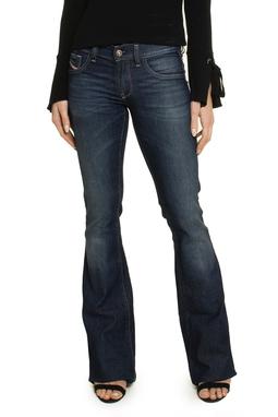 Calça Jeans Escuro Flare - DG17326