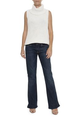 Calça Jeans Escuro Reta - DG15435