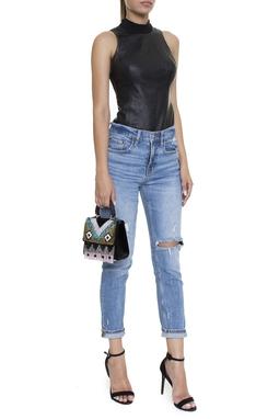 Calça Jeans Reta Rasgos - DG15127