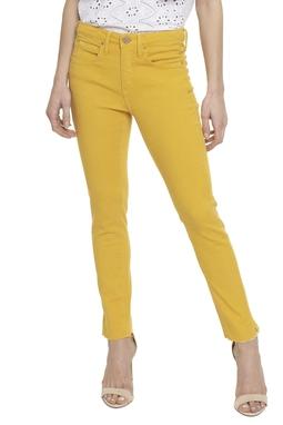 Calça Jeans Skinny Barra Destroyed - DG16252