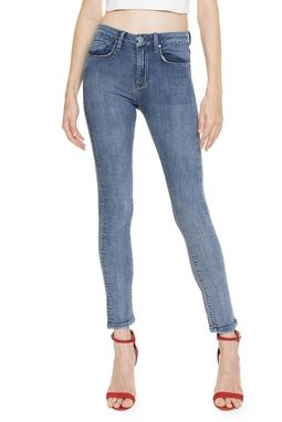 Calça Jeans Skinny Cintura Alta  - DG16352