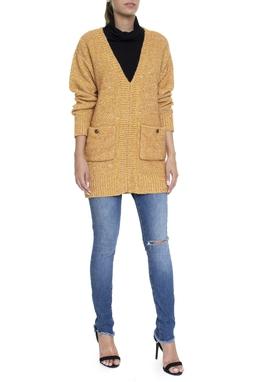Calça Jeans Skinny Cintura Alta Rasgo Joelho - DG16203