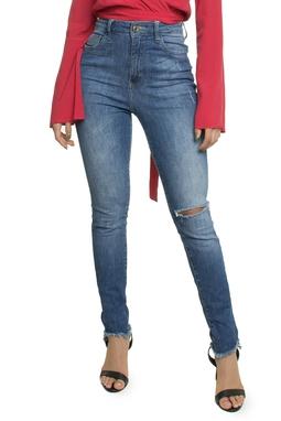 Calça Jeans Skinny Cintura Alta - DG16203