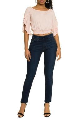 Calça Jeans Skinny Escuro - DG17292
