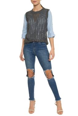 Calça Jeans Skinny Joelhos - DG16895