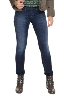 Calça Jeans Skinny Triangulos - DG16664