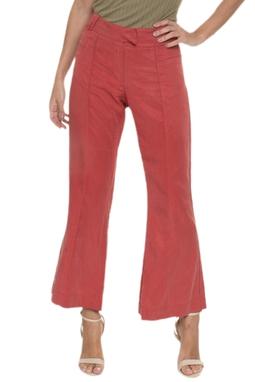 Calça Pantalona Bolsos Recortados - DG16707