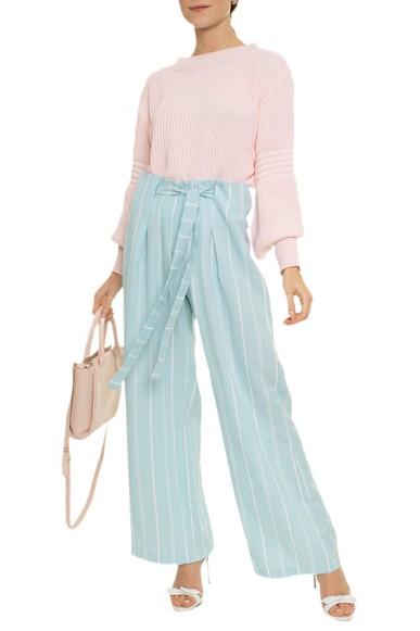Calça Pantalona Listrada - DG14963 Curadoria Dress & Go