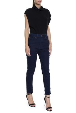 Calça Skinny Dark Blue Jeans - DG16205