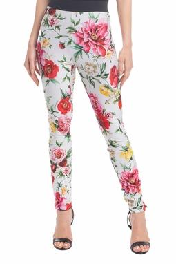 Calça Skinny Estampa Floral - DG18431