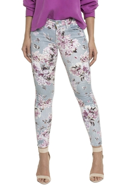 Calça Skinny Floral - DG17042