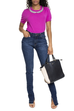Calça Slim Jeans Escuro - DG15278